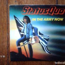 Discos de vinilo: STATUS QUO - IN THE ARMY NOW + HEARTBURN . Lote 95984439