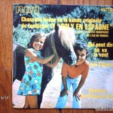 Discos de vinilo: LES PETITS CHANTEURS DE L´ILE DE FRANCE - POLY EN ESPAGNE . Lote 95984743