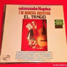 Discos de vinilo: LP VINILO EDMUNDO MAPLES U SU ORQUESTA ARGENTINA EL TANGO. Lote 95987099