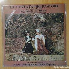 Discos de vinilo: ROBERTO DE SIMONE - LA CANTATA DEI PASTORI - LP. Lote 95992812