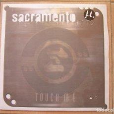 Discos de vinilo: SACRAMENTO – TOUCH ME - MD RECORDS 2001 - MAXI - P -. Lote 95993667