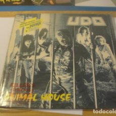 Discos de vinilo: LOE LP UDO ANIMAL HOUSE SELLO RCA 1987...SALIDA 1 EURO. Lote 96002199