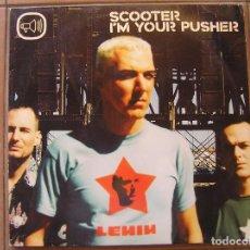 Discos de vinilo: SCOOTER ?– I'M YOUR PUSHER - SHEFFIELD TUNES 2000 - MAXI - P. Lote 96006087