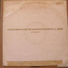 Discos de vinilo: SQUEEZEBRAIN AND THE MACHINE – LOVEGROOVE - CLUB 1988 - MAXI - P -. Lote 96006659