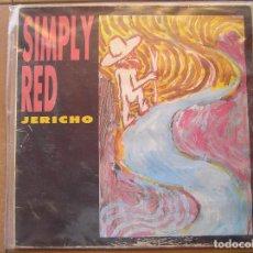 Discos de vinilo: SIMPLY RED – JERICHO - WEA 1986 - MAXI - P. Lote 96006739