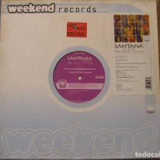 Discos de vinilo: SANTANA – THE GAME OF LOVE (WEEKEND REMIXES) - WEEKEND RECORDS 2003 - MAXI - P. Lote 96006895