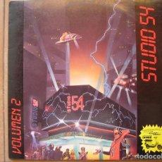 Discos de vinilo: STUDIO 54 - VOLUMEN 2 - BLANCO Y NEGRO 1985 - LP - P -. Lote 96007291