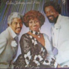 Discos de vinilo: CELIA CRUZ, JOHNNY PACHECO & PETE CONDE RODRIGUEZ LP DISCOPHON VAYA 1980 - SALSA LATIN. Lote 96007939