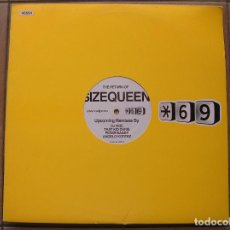 Discos de vinilo: THE RETURN OF SIZEQUEEN - UPCOMING REMIXES BY - ADVANCEDJPROMO - MAXI - P. Lote 96009075