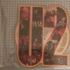 Discos de vinilo: U2 PICTURE DISC THE UNFORGETTABLE FIRE UK RARO NO PROMO VINILO LP NO CD. Lote 126005962
