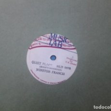 Discos de vinilo: DELROY WILSON / WINSTON FRANCIS ?– KEEP ONN TRYING / QUIET PLACE. Lote 96016267
