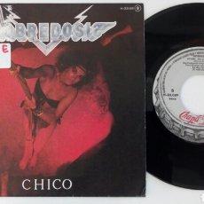 Discos de vinilo: SOBREDOSIS 1983 CHICO, PROMOCIONAL. Lote 96018208
