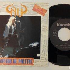 Discos de vinilo: ÑU, IMPERIO DE PALETOS, PROMOCIONAL, NUEVO. Lote 96018688