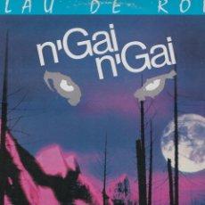 Discos de vinilo: LP N'GAI N'GAI. BLAU DE ROIG (EN CATALÀ) 1987 SPAIN. CON ENCARTE. PROVAT I MOLT BON ESTAT.. Lote 96020795