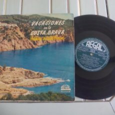 Discos de vinilo: VACACIONES EN LA COSTA BRAVA. REGAL HOLIDAYS IN COTA BRAVA. 33LS 1044 DISCO DE 25 CM. LP VINILO. Lote 96021443