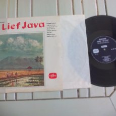 Discos de vinilo: LIEF JAVA, KRONTJONG ORKEST. COLUMBIA DISCO DE 25 CM, 10''. LP VINILO. Lote 96022203