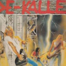 Discos de vinilo: LP DE-KALLE. LAS DOS CARAS DE LA MONEDA. 1991 SPAIN. SEMINUEVO Y PROBADO, CON ENCARTE.. Lote 96022315