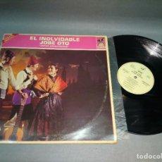 Discos de vinilo: 918- EL INOLVIDABLE JOSE OTO - JOTAS ARAGONESAS - VINILO LP - PORT VG + DISCO VG +. Lote 96022547