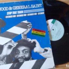 Discos de vinilo: MAXISINGLE (VINILO) DE CLINT EASTWOOD & GENERAL SAINT AÑOS 80. Lote 96025007