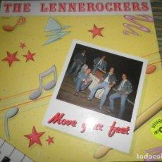Discos de vinilo: THE LENNEROCKERS - MOVE YOUR FEET LP - ORIGINAL ALEMAN - BESTELL RECORDS 1988 - STEREO -. Lote 96025807