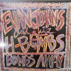 Discos de vinilo: EVAN JOHNS & HIS H-BOMBS - BOMBS AWAY. Lote 96027571