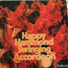 Discos de vinilo: LP DOBLE-HAPPY HAMMOND-SWINGING ACCORDEON. Lote 96030015