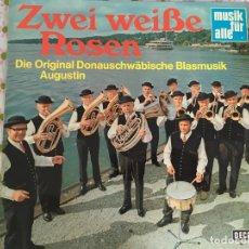 Discos de vinilo: LP ZWEI WEISSE ROSEN-DIE ORIGINAL.... Lote 96030479
