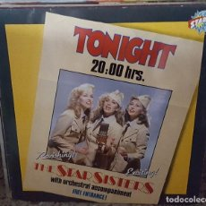 Discos de vinilo: LP - THE STARS SISTERS WITH ORCHESTRAL ACCOMPANIMENT - TONIGHT 20:00HRS. - CNR 655.177 1983 HOLANDA. Lote 96030499