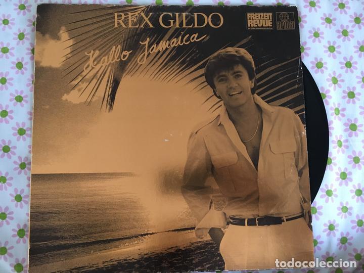 LP REX GILDO-HALLO JAMAICA (Música - Discos - LP Vinilo - Cantautores Extranjeros)