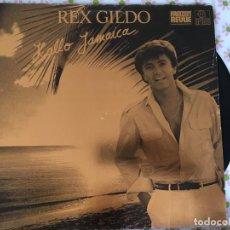 Discos de vinilo: LP REX GILDO-HALLO JAMAICA. Lote 96031311