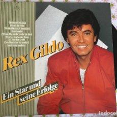 Discos de vinilo: LP REX GILDO-EIN STAR UND SEINE ERFOLGE. Lote 96031811