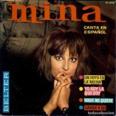 Discos de vinilo: MINA CANTA EN ESPAÑOL DISCO DE 4 CANCIONES EDITADO EN ESPAÑA AÑO 1.964 / SABOR A MI . Lote 96032271