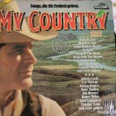Discos de vinilo: LP MY COUNTRY-SONG,DIE DIR FREIHEIT GEBEN. Lote 96032547