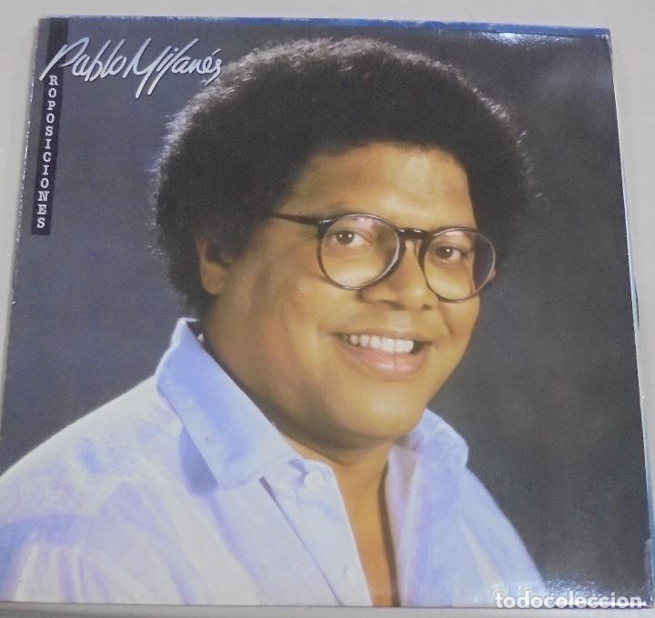 LP. PABLO MILANES. PROPOSICIONES. 1988. ESTUDIO TORRES (Música - Discos - LP Vinilo - Cantautores Extranjeros)