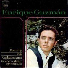 Discos de vinilo: ENRIQUE GUZMAN BUEN VIAJE / DISCO DE 4 CANCIONES EDITADO EN ESPAÑA AÑO 1964. Lote 96054175