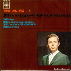 Discos de vinilo: ENRIQUE GUZMAN MAS / ENAMORADO / EL AÑO 2.000 / MARIA/ DISCO DE 4 CANCIONES EDITADO EN ESPAÑA 1964. Lote 96054799