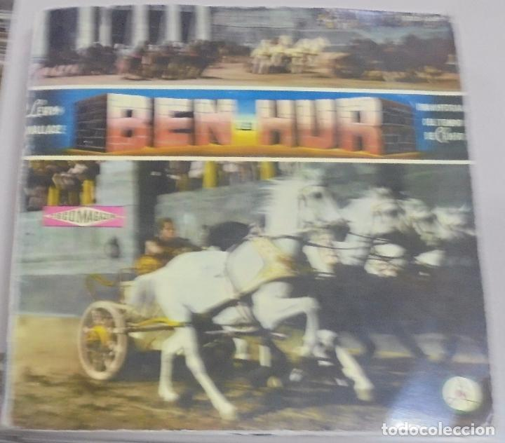LP. BEN-HUR. LEWIS WALLACE. UNA HISTORIA DEL TIEMPO DE CRISTO (Música - Discos - LP Vinilo - Bandas Sonoras y Música de Actores )