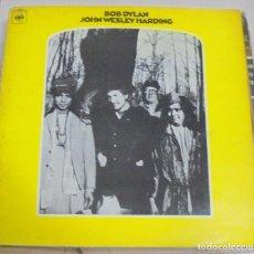 Discos de vinilo: LP. BOB DYLAN. JOHN WESLEY HARDING. 1968.CBS. Lote 96056447