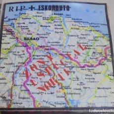 Discos de vinilo: LP. RIP + ESKORBUTO. ZONA ESPECIAL NORTE. DISCOS SUICIDAS. Lote 96057351