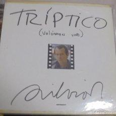 Discos de vinilo: LP. SILVIO RODRIGUEZ. TRIPTICO. VOLUMEN UNO. 1984. FONOMUSIC. Lote 96057855
