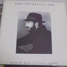 Discos de vinilo: LP. JUAN LUIS GUERRA. 440. OJALA QUE LLUEVA CAFE. 1990. KAREN. Lote 96058287