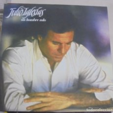 Discos de vinilo: LP. JULIO IGLESIAS. UN HOMBRE SOLO. 1987. CBS. Lote 96059195