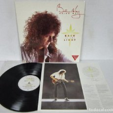 Discos de vinilo: BRIAN MAY / QUEEN - BACK TO THE LIGHT - LP - PARLOPHONE 1992 SPAIN + LETRAS - COMO NUEVO . Lote 96067587