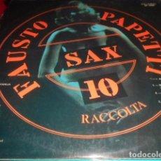Discos de vinilo: LP - FAUSTO PAPPETTI -SAX 10. Lote 96069651