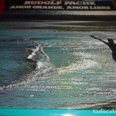 Discos de vinilo: LP - RUDOLF PACHE - AMOR GRANDE. Lote 96069743