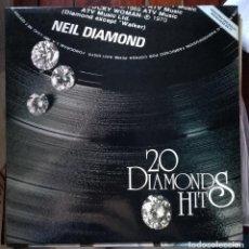 Dischi in vinile: LP NEIL DIAMOND 20 DIAMONDS HITS. Lote 96069939