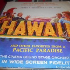 Discos de vinilo: LP - HAWAII - ELMER BERNSTEIN. Lote 96070055