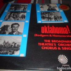 Discos de vinilo: LP - OKLAHOMA - RODGERS HAMMERSTEIN. Lote 96070179