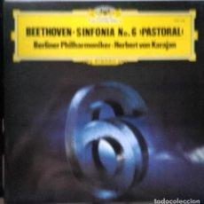 Discos de vinilo: LP BEETHOVEN SINFONIA NO 6 PASTORAL. Lote 96070743