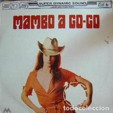 Discos de vinilo: SHARPS AND FLATS AND THE TOKYO CUBAN BOYS – MAMBO A GO-GO 1971 KING RECORDS – TKS-4003 (SPAIN). Lote 96073239